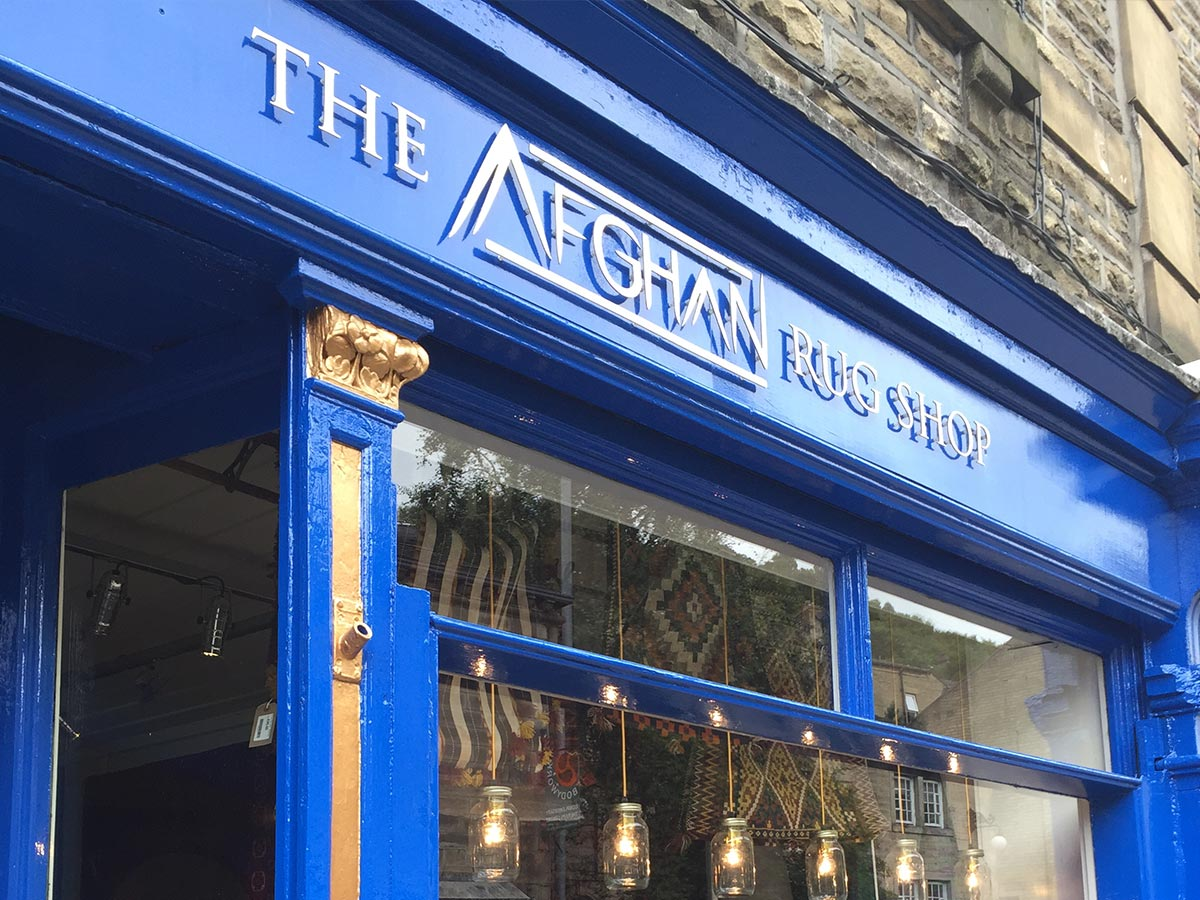 The Afghan Rug Shop Hebden Bridge