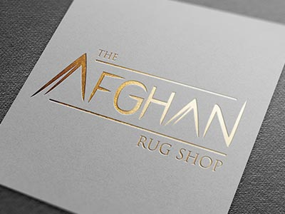 The Afghan Rug Shop Branding