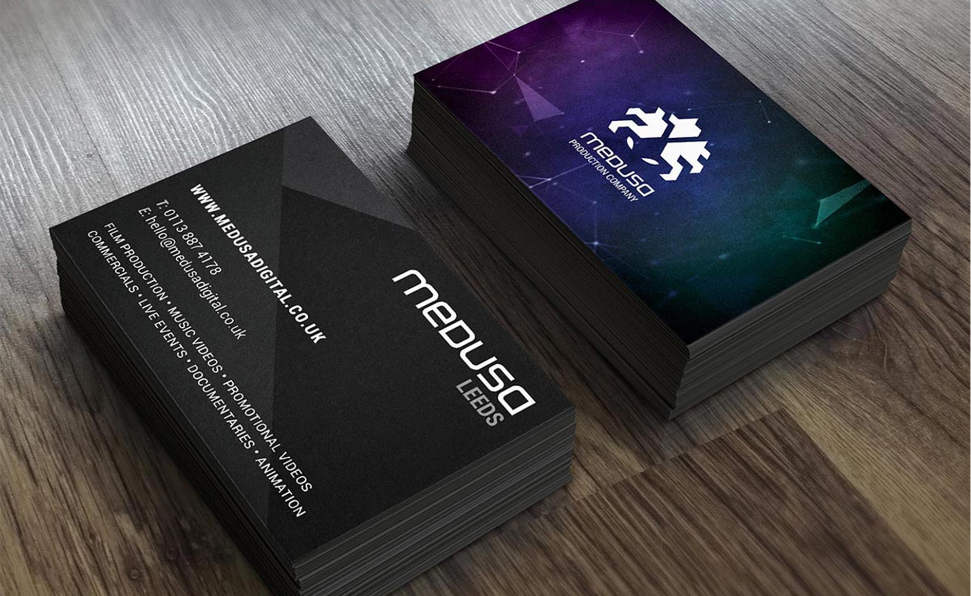 Medusa - Production Company Business Cards