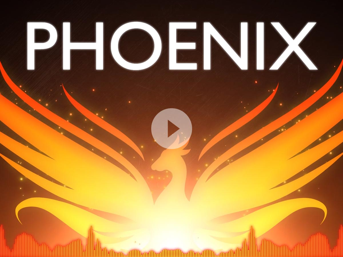 Fall Out Boy 'The Phoenix' Lyrics Kinetic Typography Animation