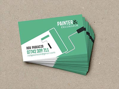 Decorator Business Cards