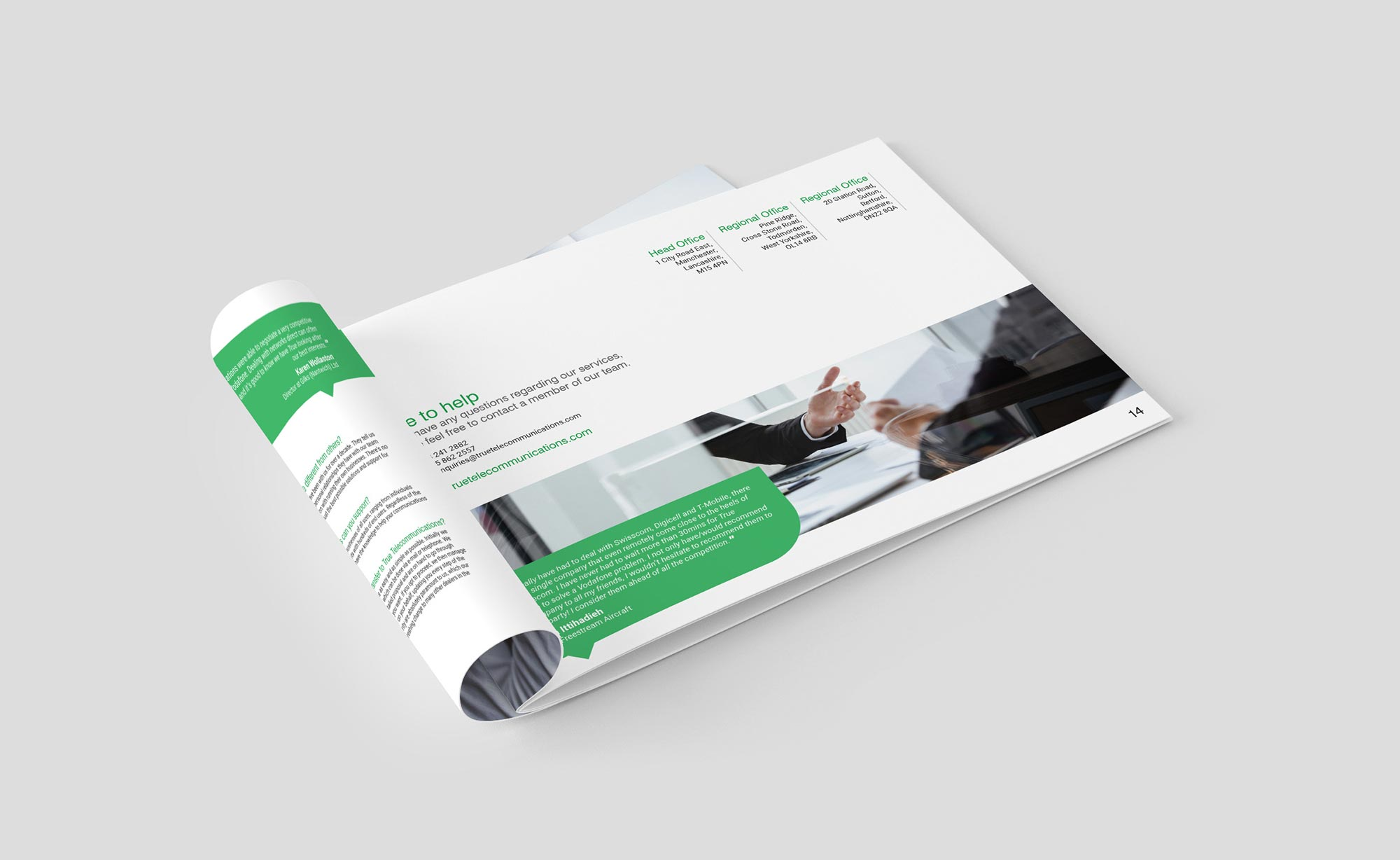 True Telecommunications Brochure